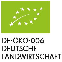 EU Bio Logo DE-ÖKO-006 Deutsche Landwirtschaft