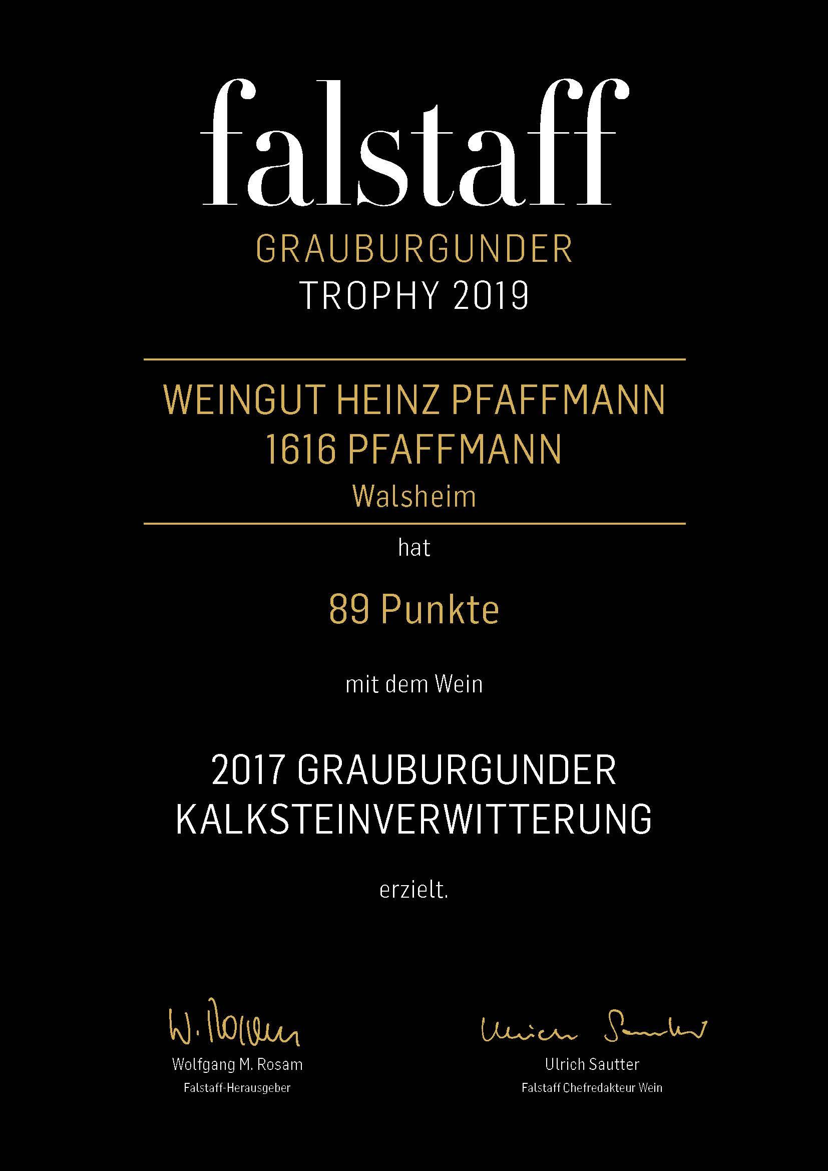 Falstaff Grauburgunder Trophy